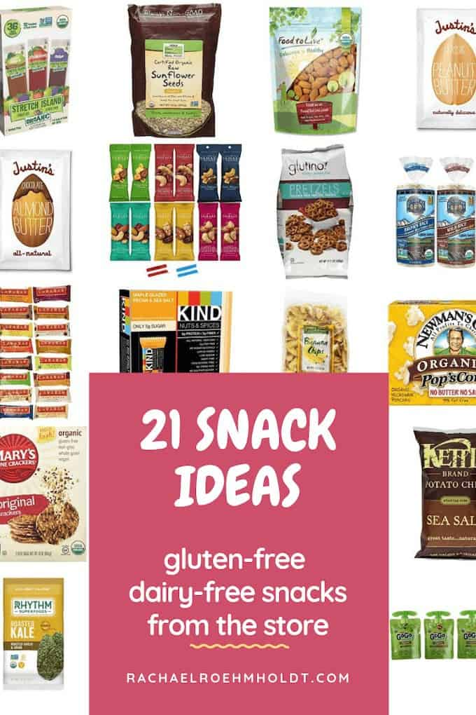 21 gluten and dairy-free snack ideas