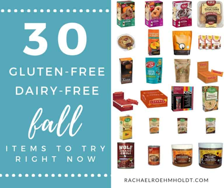 30 gluten-free dairy-free fall foods