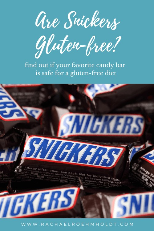 Are Snickers Gluten-free?