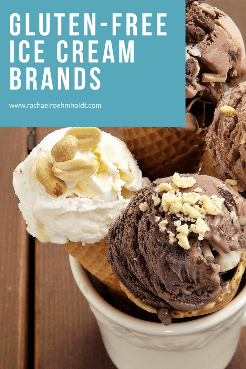 Gluten-free Ice Cream Brands: find out what flavors and brands to buy