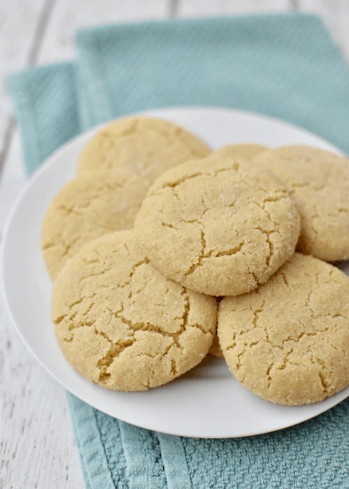 Gluten-free Sugar Cookies: enjoy the finished cookies
