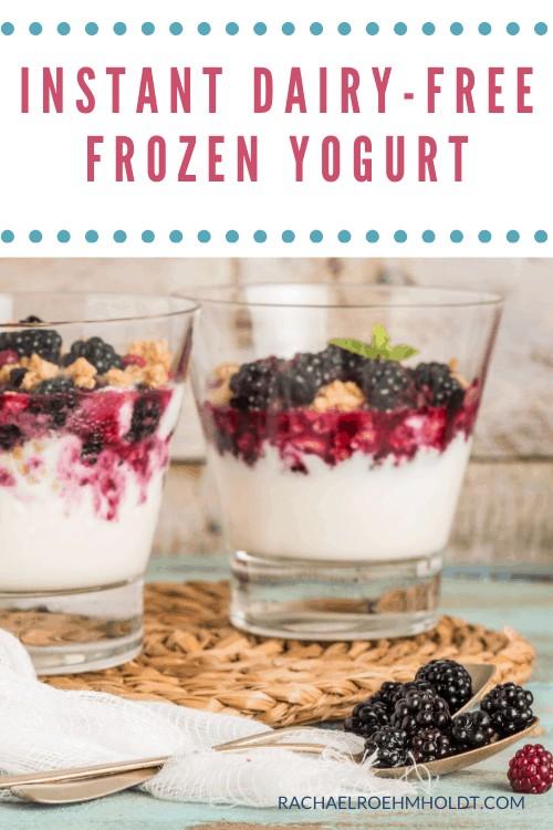 Dairy-free Frozen Yogurt