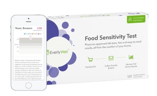 Everlywell Food Sensitivity Kit