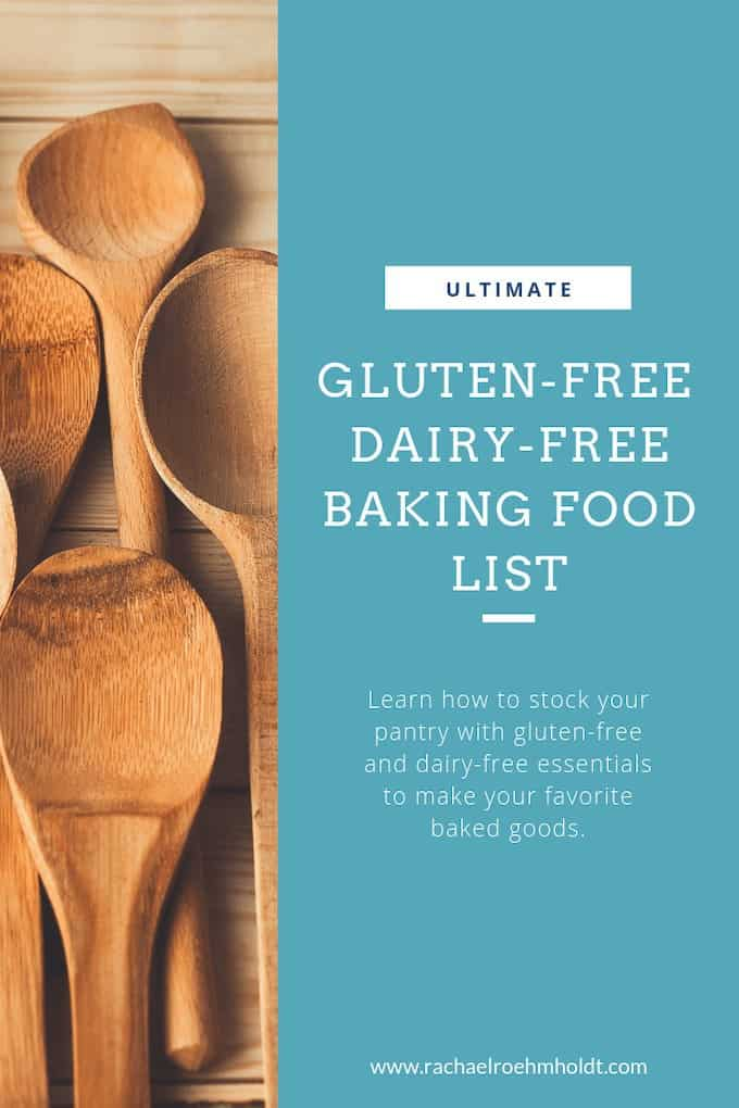 The ultimate gluten-free dairy-free baking list