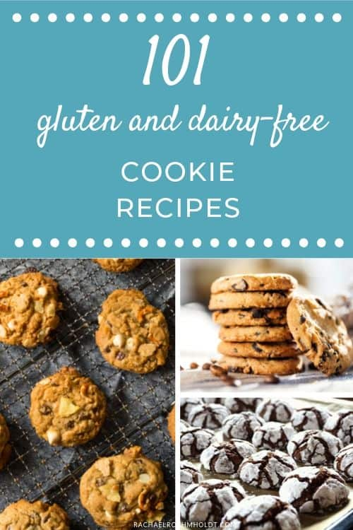 101 Gluten & Dairy-free Cookie Recipes