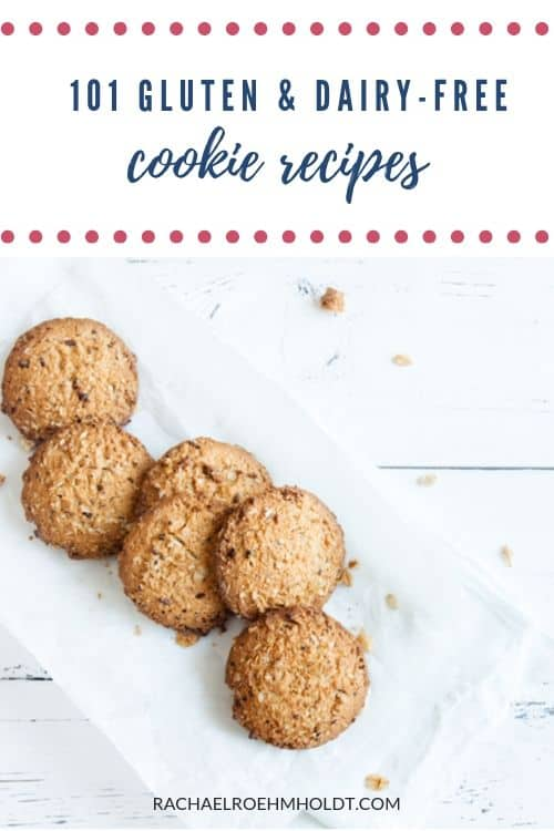 101 Gluten and Dairy-free Cookie Recipes