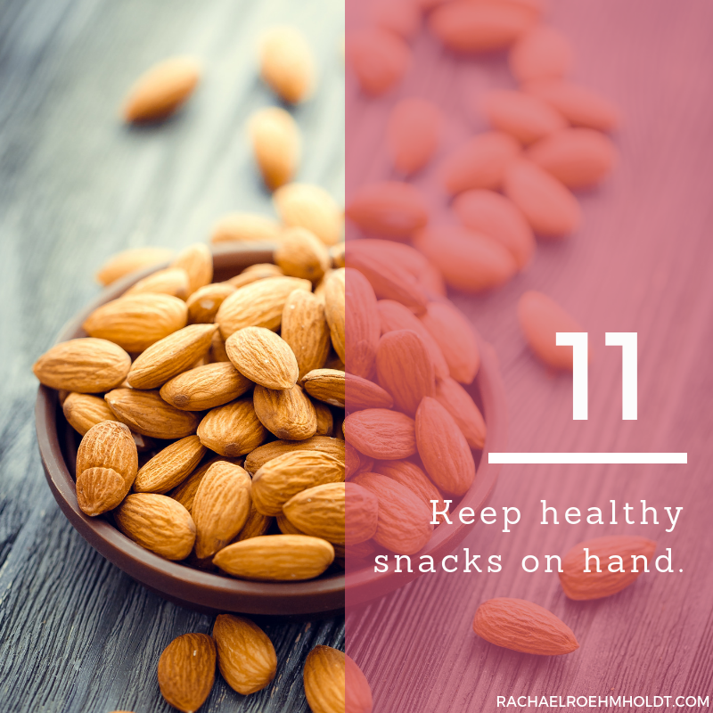 Gluten and Dairy-free Diet: 15 Tips to Stay Healthy // 11. Keep healthy snacks on hand