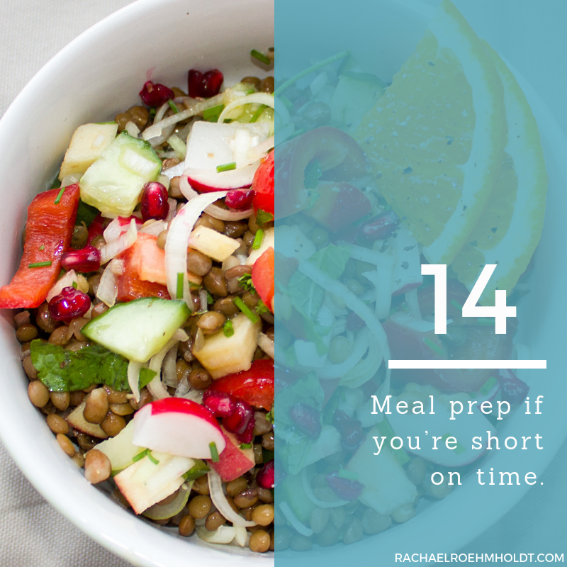 Gluten and Dairy-free Diet: 15 Tips to Stay Healthy // 14. Meal prep if you're short on time