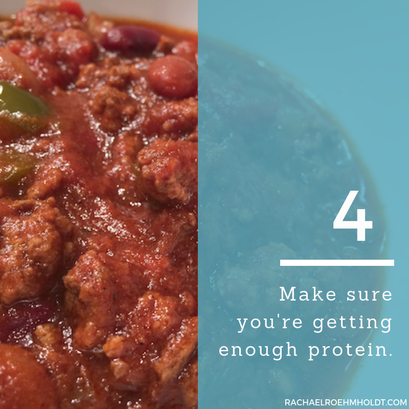 Gluten and Dairy-free Diet: 15 Tips to Stay Healthy // 4. Make sure you're getting enough protein