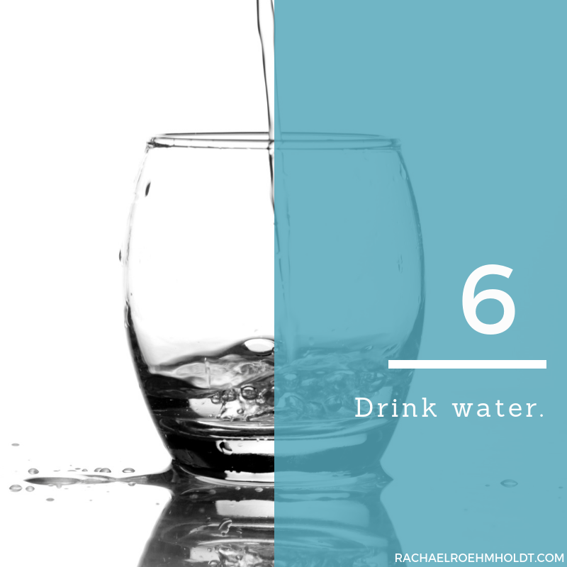 Gluten and Dairy-free Diet: 15 Tips to Stay Healthy // 6. Drink water
