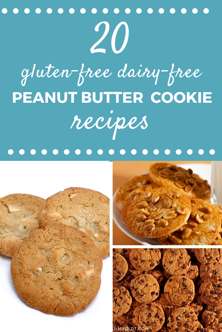 20 Gluten-free Dairy-free Peanut Butter Cookie Recipes