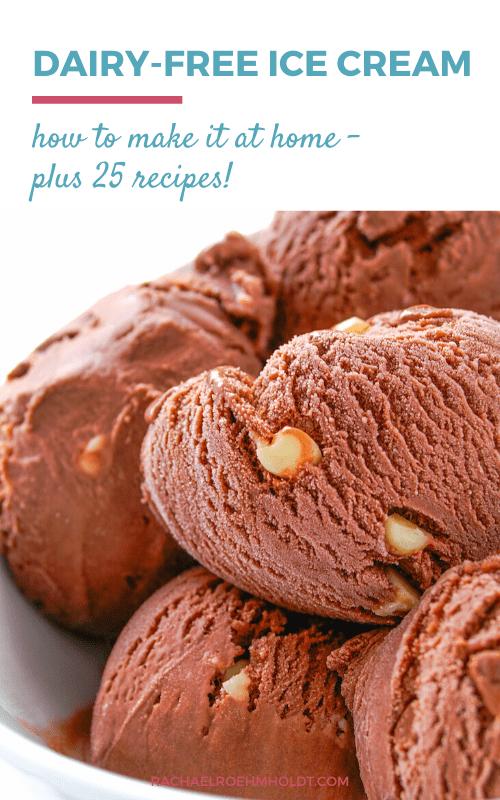 25 Dairy-free Ice Cream Recipes