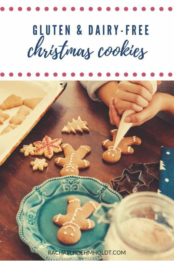 25 Gluten-free Dairy-free Christmas Cookies