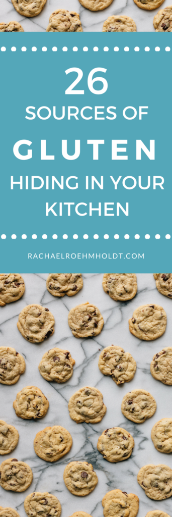 26 hidden sources of gluten hiding in your kitchen