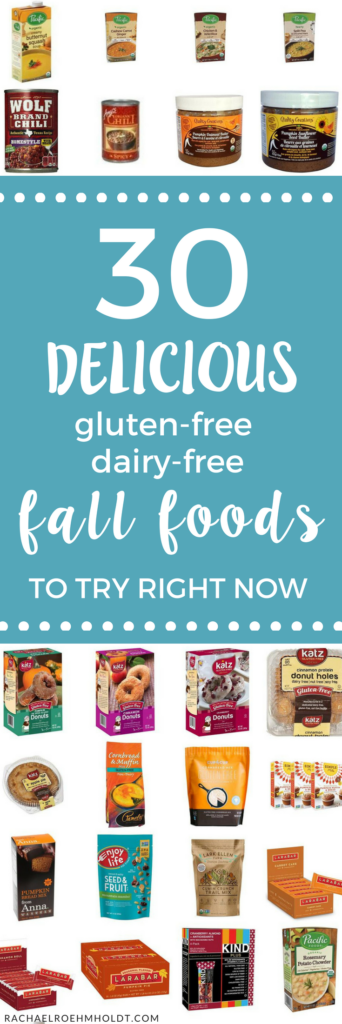 30 gluten-free dairy-free fall foods