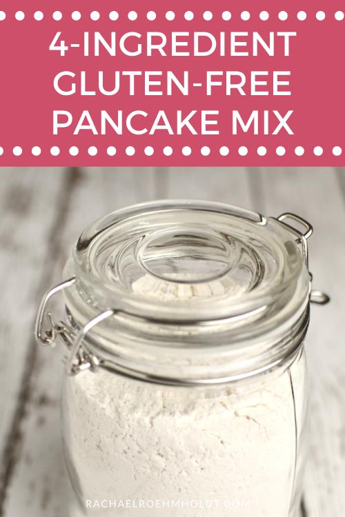4 Ingredient Gluten-free Pancake Mix