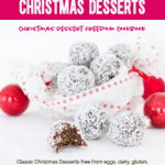 Christmas Desserts Freedom Cookbook