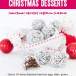 Christmas Desserts Freedom Cookbook