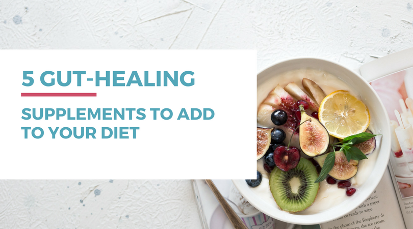 Do you have food intolerances to gluten or dairy? If so, be sure to check out these 5 gut-healing supplements to add to your diet and start healing a leaky gut.