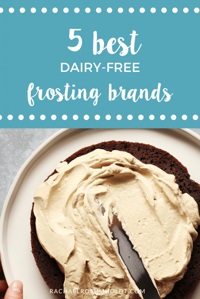 5 best dairy-free frosting brands
