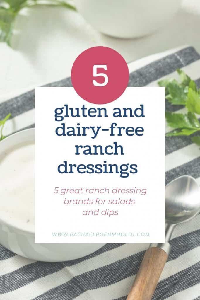 5 Gluten-free Dairy-free Ranch Dressing Brands