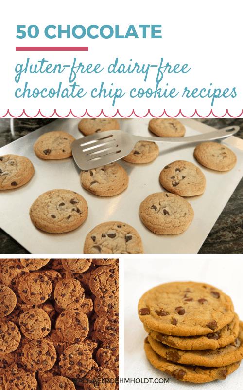 50 Gluten-free Dairy-free Chocolate Chip Cookies
