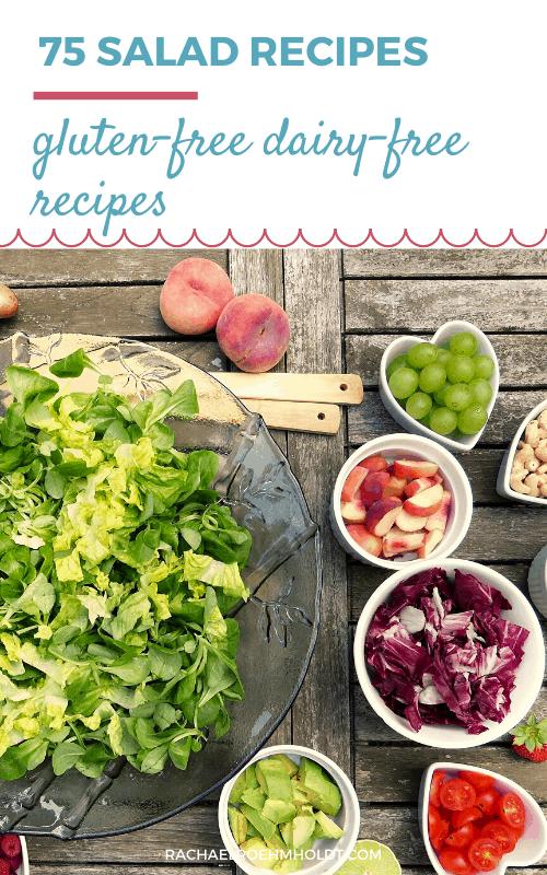 75 Gluten-free Dairy-free Salad Recipes