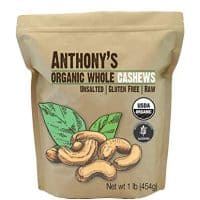 Organic Whole Cashews