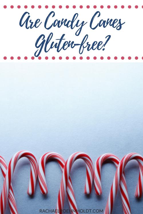 Gluten-free Candy Cane Brands
