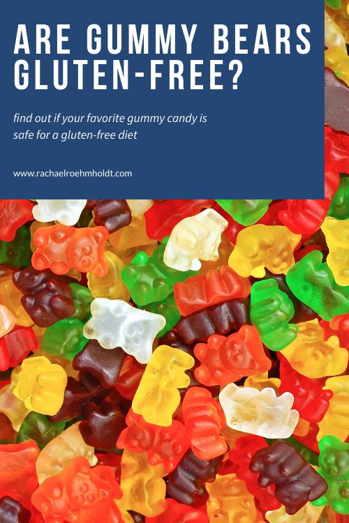 Are Gummy Bears Gluten-free?