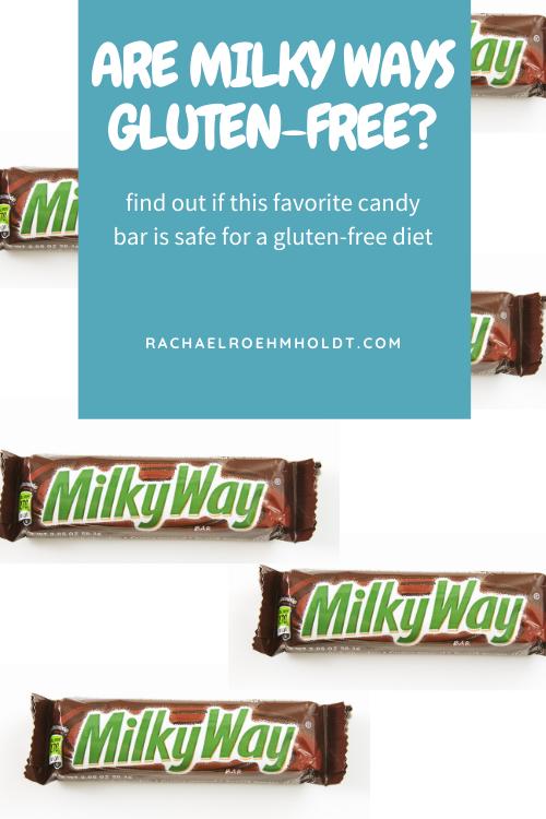 Are Milky Ways Gluten-free