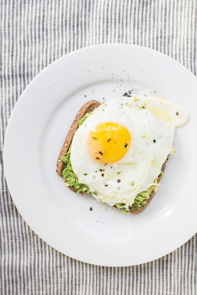 Gluten-free dairy-free breakfast idea: avocado toast