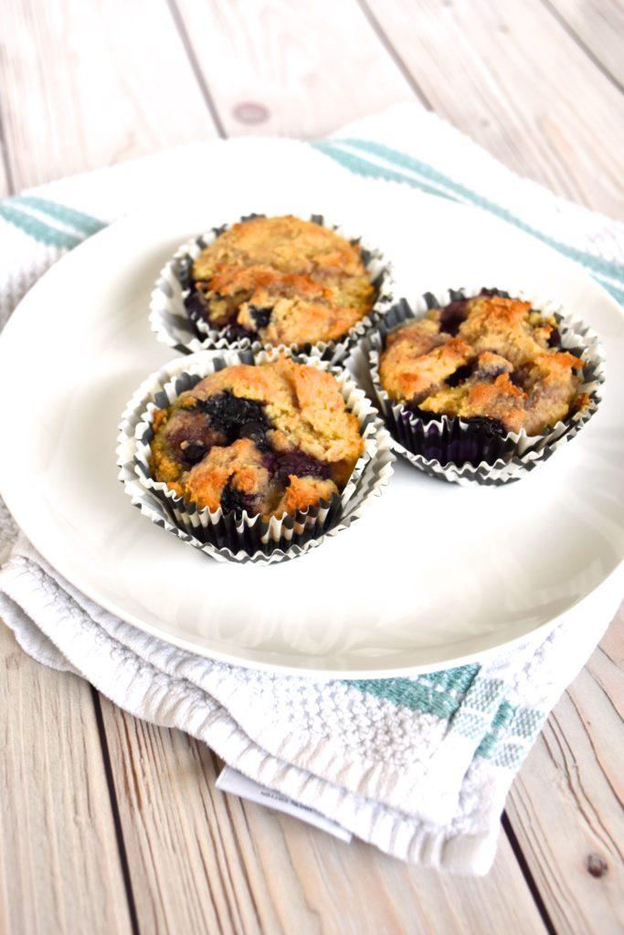 Gluten-free dairy-free breakfast idea: muffins