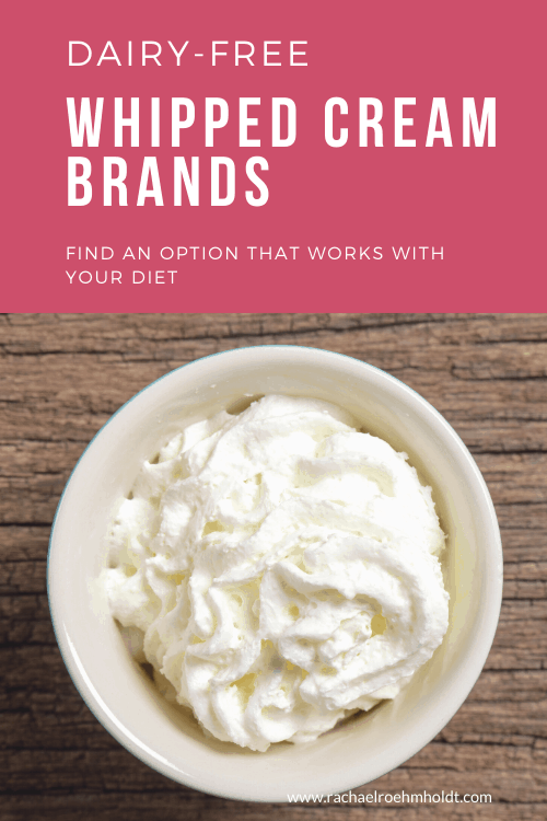 Dairy-free Whipped Cream Brands