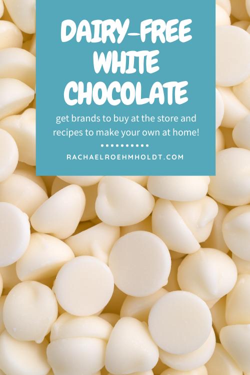 Dairy-free White Chocolate