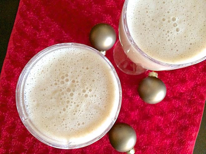 healthy holiday dairyfree egg nog  rachael roehmholdt