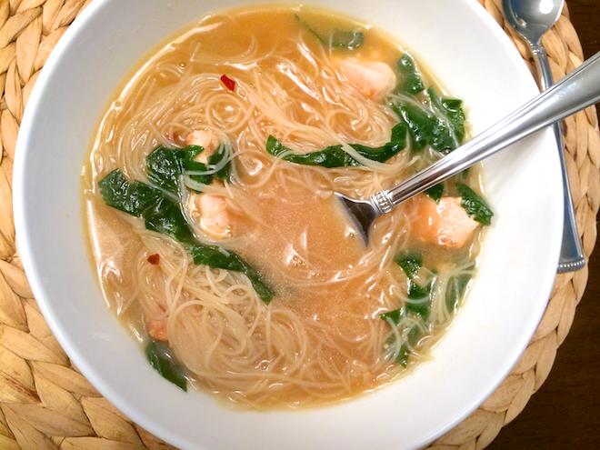 Ramen-Style Noodle Soup For A Cold Winter Day | RachaelRoehmholdt.com