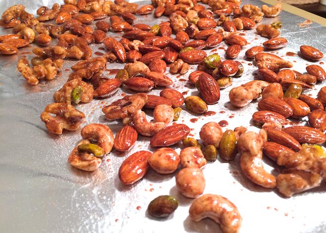Pumpkin Pie Spiced Nuts | RachaelRoehmholdt.com