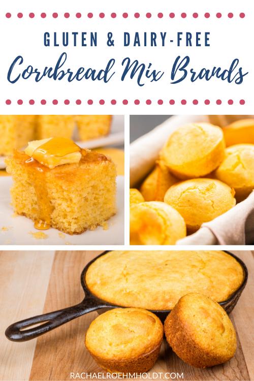 Gluten & Dairy-free Cornbread Mix Brands