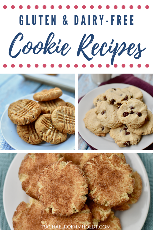 Gluten and Dairy free Cookie Recipes