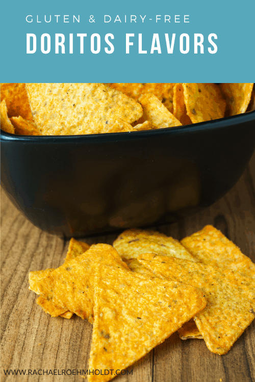 Gluten and Dairy-free Doritos flavors