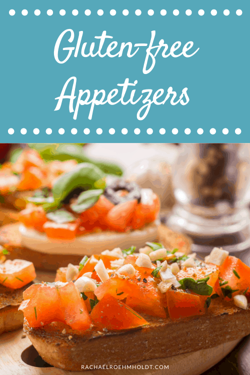 Gluten-free Appetizers - toasts