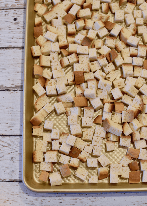 Gluten free Bread Cubes