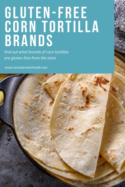 Gluten-free Corn Tortilla Brands