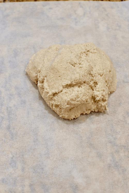 Gluten-free Pie Crust (vegan, dairy-free) - pie crust dough