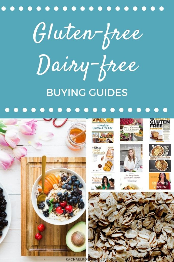 Gluten-free Dairy-free Buying Guides and Food Lists