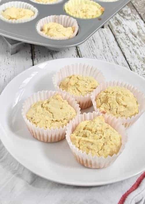 Gluten-free Dairy-free Cornbread and Cornbread Muffins