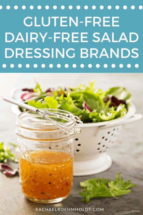 Gluten free Dairy-free Salad Dressing Brands