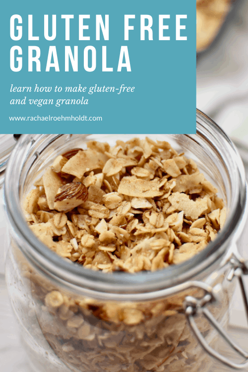 Gluten-free Granola: learn if granola is gluten-free, what brands to buy, and a recipe for a gluten and dairy-free granola recipe
