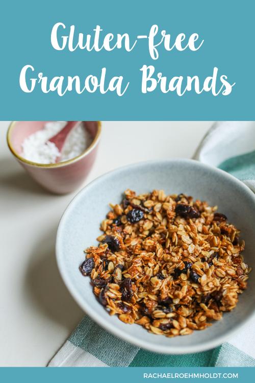 Gluten free Granola Brands